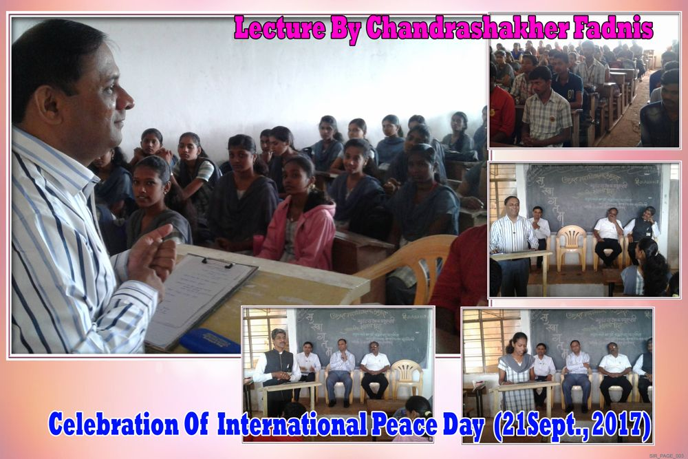 Celebration of peace day
