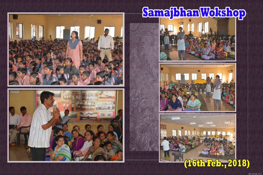 Samajbhan workshop 16 jan