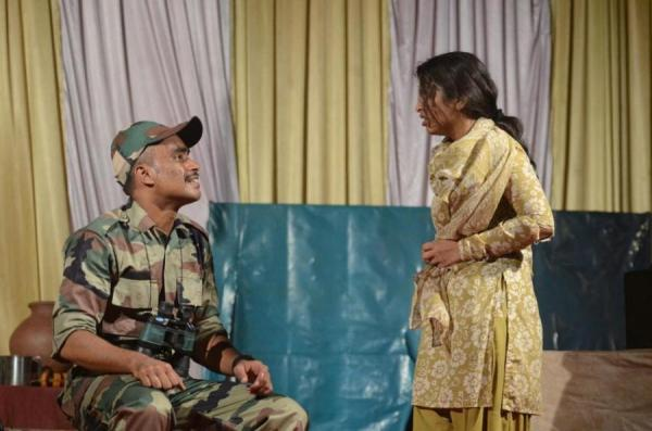 Arman Daddikar and Vaishnavi Mulik (one act play - Mazar)