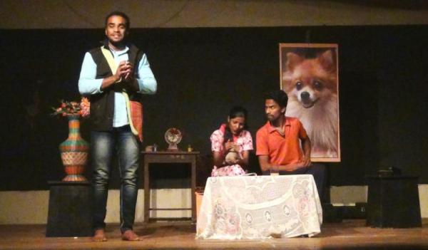 One Act Play - A Human Dog