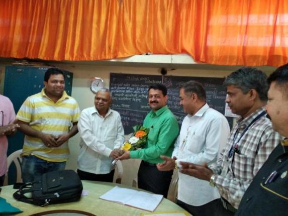 Felicitation of Prof. Sachin Injal on the achivment of Ajara Notary post